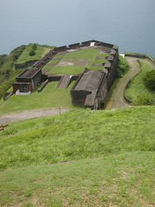 This fort was actually besieged and eventually fell to the French after an epic protracted struggle.