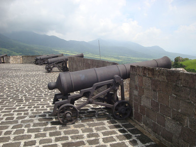 Brimstone Hill cannon