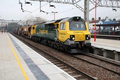 70013 1309/6z96 Crewe-Bescot.