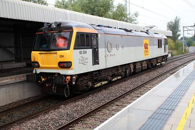 92024 1451/0z92 Crewe-Crewe.
