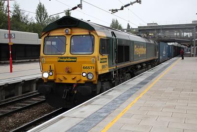 66571 1013/4o43 Crewe-Southampton.