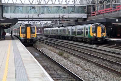 London Midland 350119 350121.