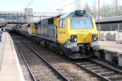 70016 1648/4z57 Rugeley-Crewe.