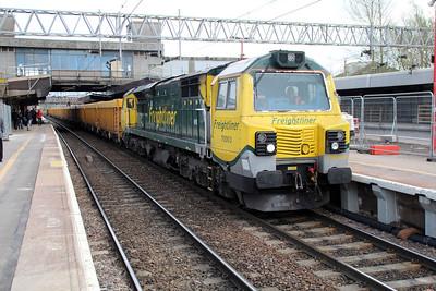 70003 1539/6u77 Mountsorrell-Crewe.
