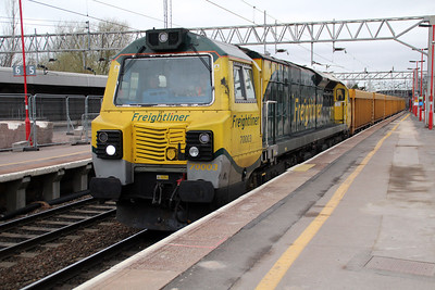 70003 0933/6u76 Crewe-Mountsorrell.