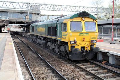66533 1557/4m54 Tilbury-Crewe.