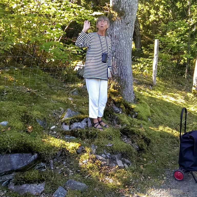 Vår guide Anita Persson