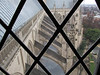 picture from seventh floor observatory level of the flying buttresses