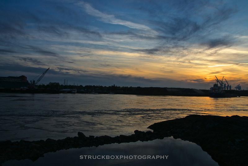Sunset, Badgers Island, Kittery ME