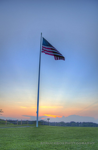 'Merica<br /> Sunset at Portland Head Light