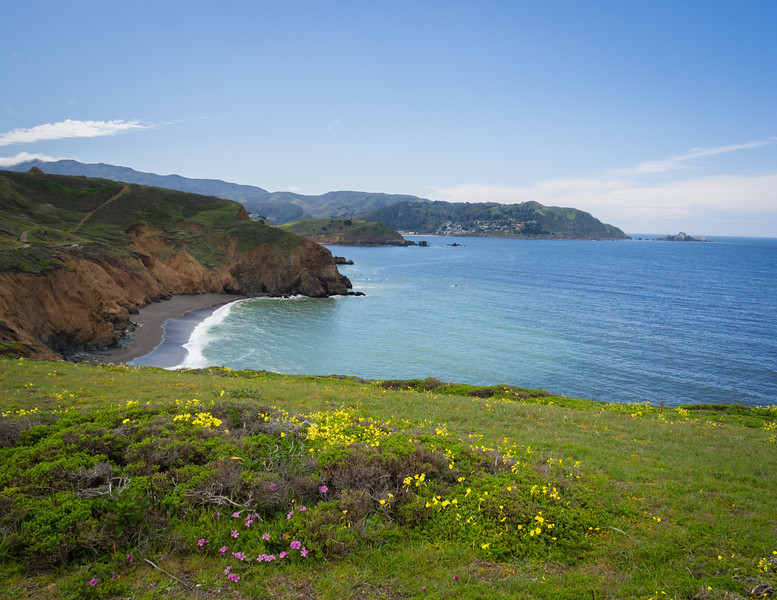 South from Mori Point