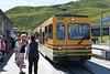 At Kleine Scheidegg, train back to Wengen