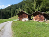 Hike from Wengen: storage huts