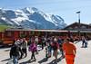 The Jungfraubahn at Kleine Scheidegg