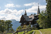 Hike from Wengen: a charming house