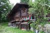 A farmhouse outside Wengen