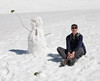 RIchard with snowman