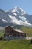 Jungfrau overlooking Kleine Scheidegg hotels