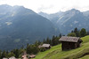 View across the valley from above Wengen