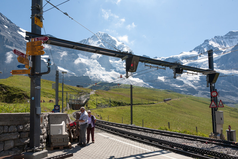 Station at Kleine Scheidegg