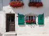 Pointed windows and doorways