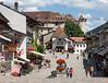 Gruyères, town center
