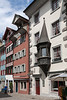 Old town facades