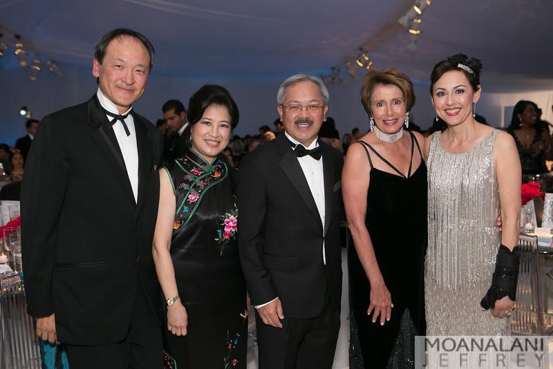 3-1553 Lawrence Lui, Anita Lee, Mayor Ed Lee, Nancy Pelosi, Sako Fisher