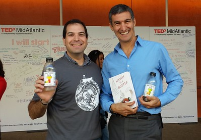 Craig with Seth Goldman, president and CEO of Honest Tea