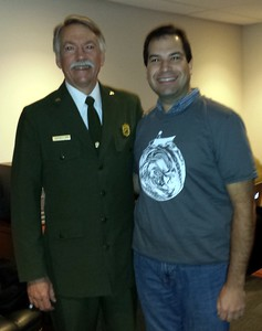Craig with Jonathan Jarvis, director of the National Park Service