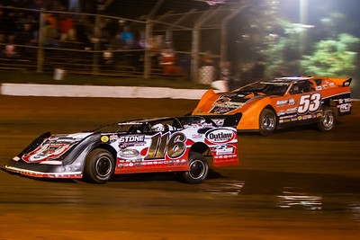 Randy Weaver (116) and Ray Cook (53)