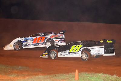 Brandon Kinzer (18) and Matt Dooley (18)
