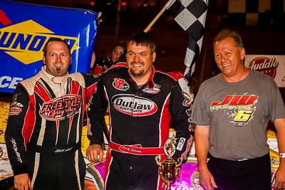 Jason Hiett (L), Randy Weaver (C) and Tim Roszell (R)