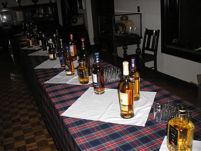 Taste of Scotland Whisky Tasting—Oct. 18, 2013