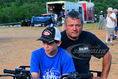 Don O'Neal and son Hudson