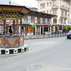 Thimphu has no traffic lights.  It is all done by policemen.
