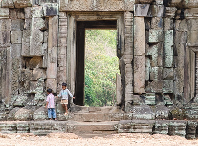 Doorway between Baphuon and the Elephant Terrace