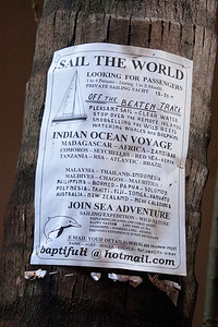 These were posted throughout the peninsula.