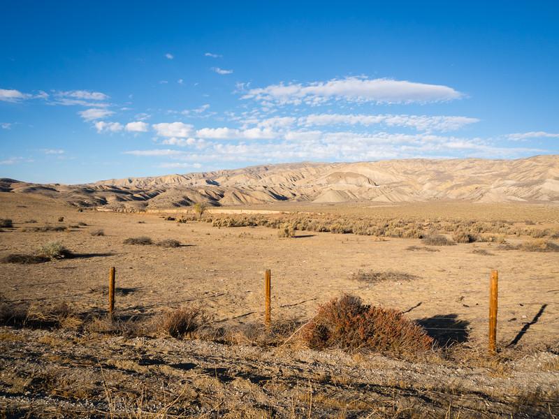 Caliente Mountains, east of Santa Maria