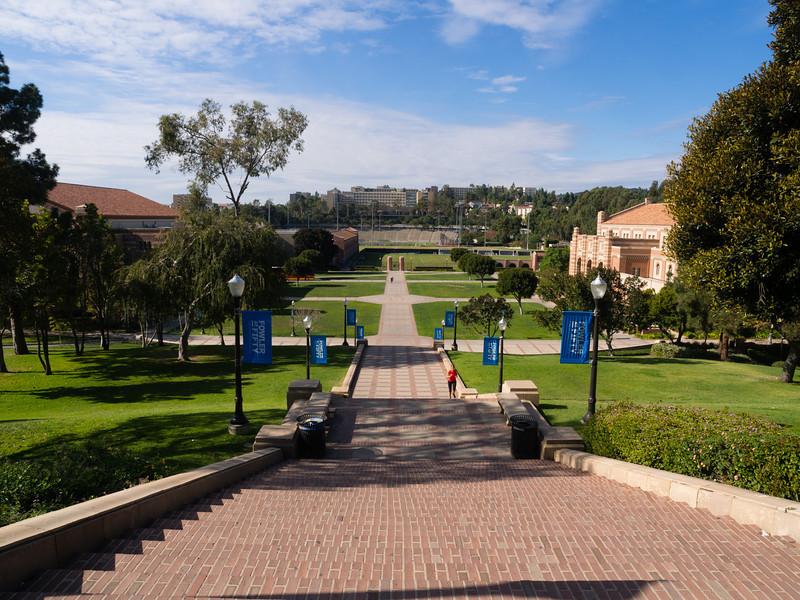 View of UCLA