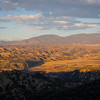 Sunset over the Cuyama Valley
