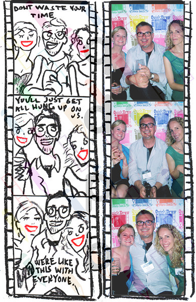 """<a href= """" http://quickdrawphotobooth.smugmug.com/Other/theknot/29235390_XrBrnp#!i=2504158365&k=PX8SD25&lb=1&s=A"""" target=""""_blank""""> CLICK HERE TO BUY PRINTS</a><p> Then click on shopping cart at top of page."""