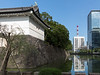 Imperial Palace, moat and city