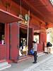 Ueno Park, Kiyomizu Kannon-do, worshipping