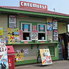Burlington Bike Path creemee stand