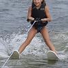 Jeanine skiing