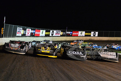 Four Wide @ Tri-City Speedway