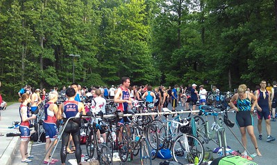 Transition area at 7:31 a.m.