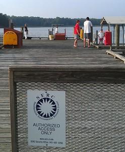 SERC dock