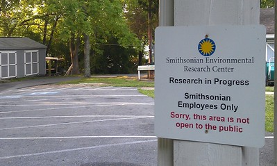Much of the race took place on restricted Smithsonian property